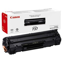 Canon 737 Black Siyah Orjinal Toner Kartuş