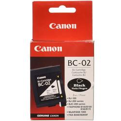 CANON - Canon BC-02 Black Siyah Orijinal Mürekkep Kartuş