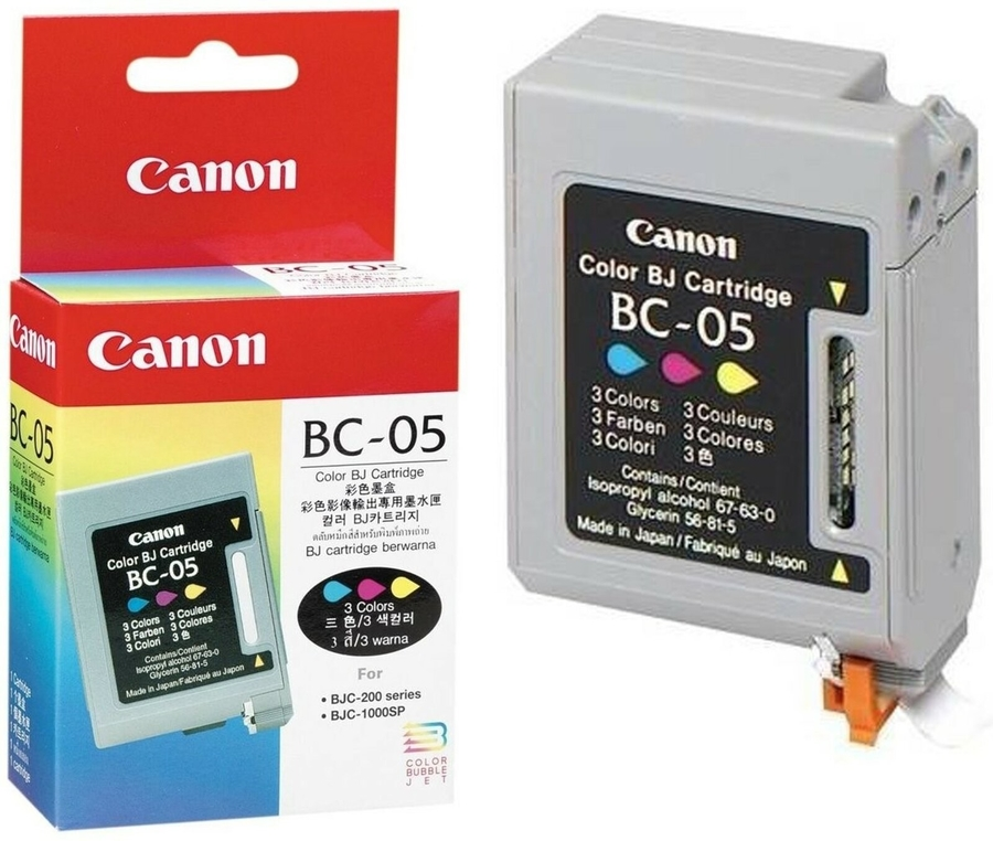 Canon BC-05C 3 Color 3 Renk Orijinal Mürekkep Kartuş