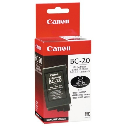 Canon BC-20 Black Siyah Orijinal Mürekkep Kartuş