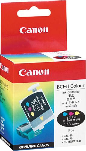 Canon BCI-11C 3 Color 3 Renk Orijinal Mürekkep Kartuş