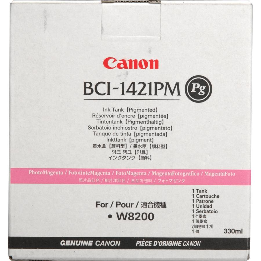 Canon BCI-1421 PM Photo Magenta Foto Kırmızı Orijinal Mürekkep Kartuş