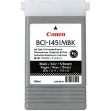 Canon BCI-1451 MBK Mat Black Mat Siyah Orijinal Mürekkep Kartuş