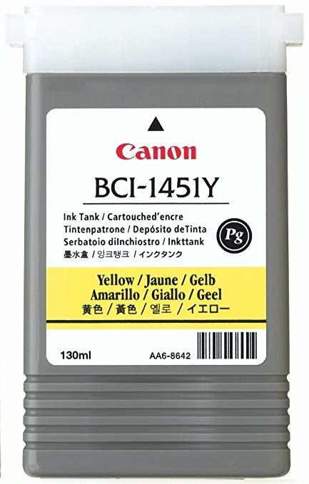 Canon BCI-1451 Y Yellow Sarı Orijinal Mürekkep Kartuş