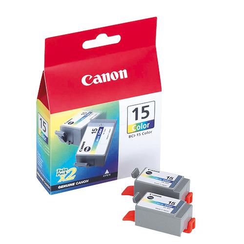 Canon BCI-15C 3 Color 3 Renk Orijinal Mürekkep Kartuş