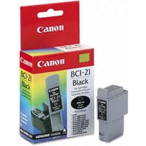Canon BCI-21BK Black Siyah Orijinal Mürekkep Kartuş