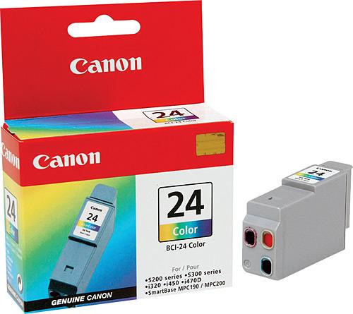 Canon BCI-24C 3 Color 3 Renk Orijinal Mürekkep Kartuş