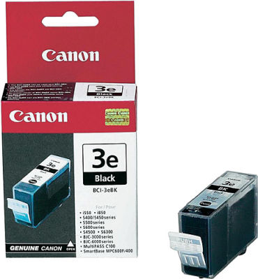 Canon BCI-3EBK Black Siyah Orijinal Mürekkep Kartuş