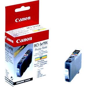 Canon BCI-3EPBK Photo Black Foto Siyah Orijinal Mürekkep Kartuş