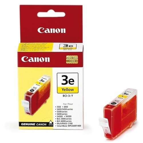 Canon BCI-3EY Yellow Sarı Orijinal Mürekkep Kartuş