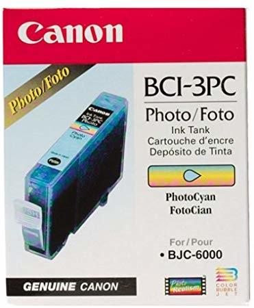 Canon BCI-3PC Photo Cyan Foto Mavi Orijinal Mürekkep Kartuş