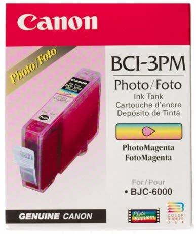 Canon BCI-3PM Photo Magenta Foto Kırmızı Orijinal Mürekkep Kartuş