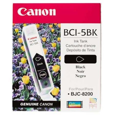 Canon BCI-5BK Black Siyah Orijinal Mürekkep Kartuş
