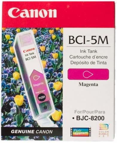 Canon BCI-5M Magenta Kırmızı Orijinal Mürekkep Kartuş