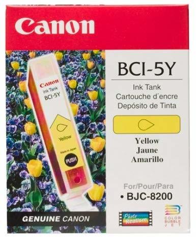 Canon BCI-5Y Yellow Sarı Orijinal Mürekkep Kartuş