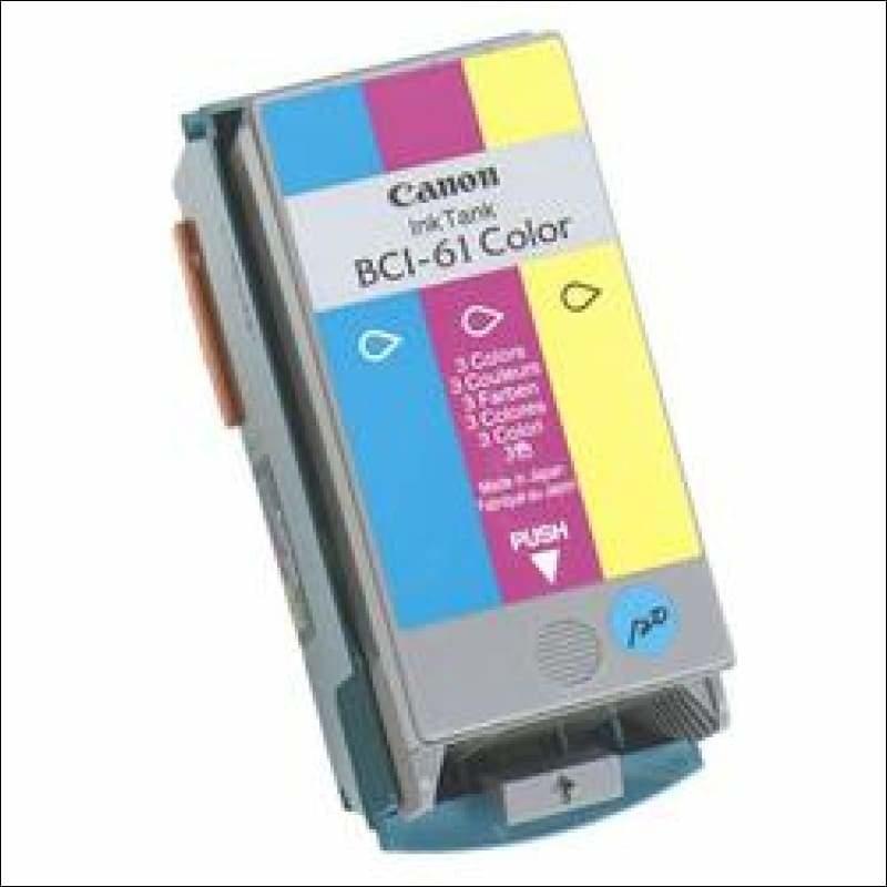 Canon BCI-61C 3 Color 3 Renk Orijinal Mürekkep Kartuş
