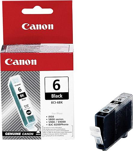 Canon BCI-6BK Black Siyah Orijinal Mürekkep Kartuş