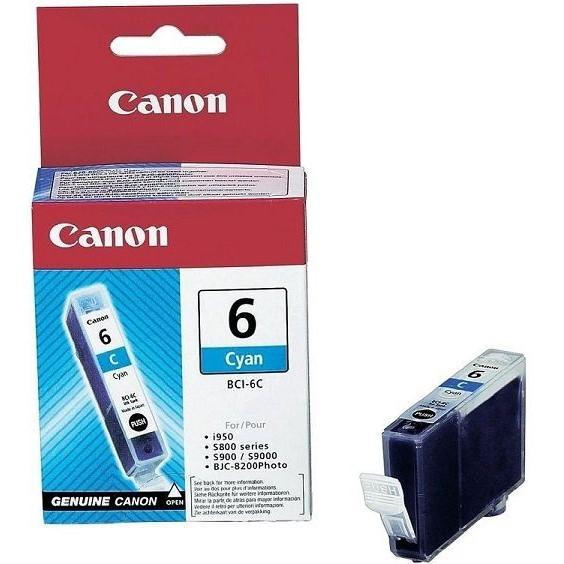 Canon BCI-6C Cyan Mavi Orijinal Mürekkep Kartuş