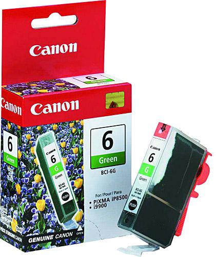 Canon BCI-6G Green Yeşil Orijinal Mürekkep Kartuş