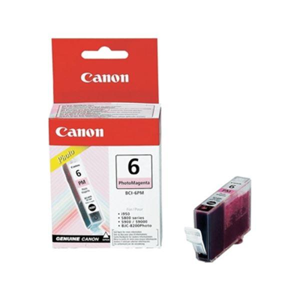 Canon BCI-6PM Photo Magenta Foto Kırmızı Orijinal Mürekkep Kartuş
