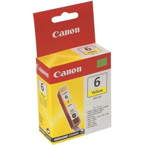 Canon BCI-6Y Yellow Sarı Orijinal Mürekkep Kartuş