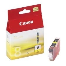 Canon BCI-8Y Yellow Sarı Orijinal Mürekkep Kartuş