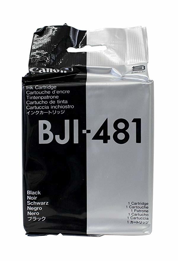 Canon BJI-481 Black Siyah Orijinal Mürekkep Kartuş