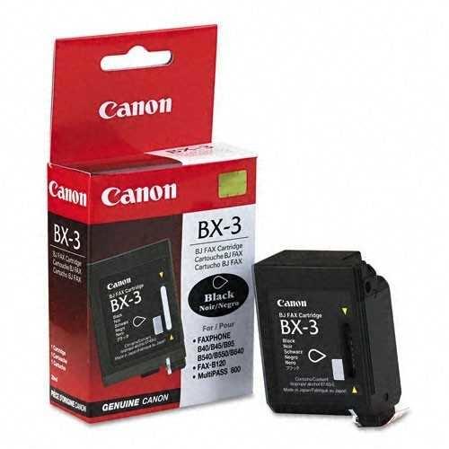 Canon BX-3 Black Siyah Orijinal Mürekkep Kartuş