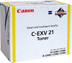 Canon C-EXV21Y Yellow Sarı Orjinal Toner Kartuş