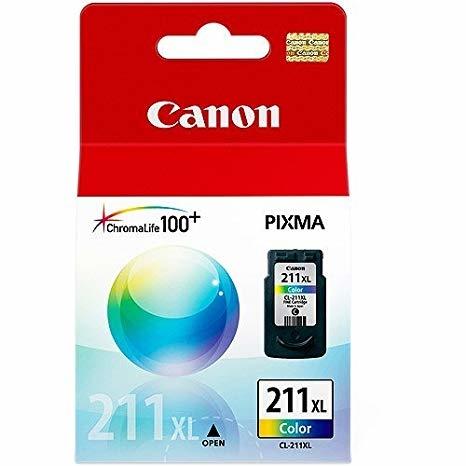 Canon CL-211 3 Color 3 Renk Orijinal Mürekkep Kartuş