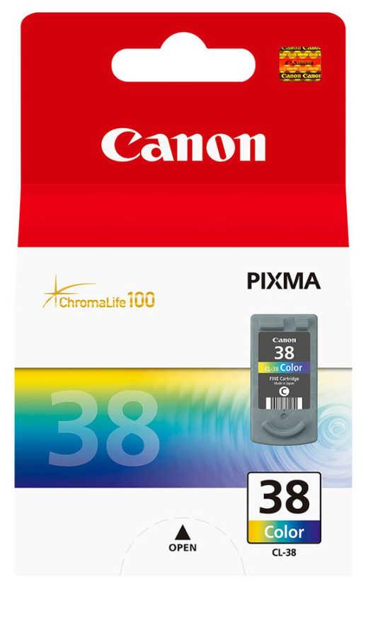 Canon CL-38 3 Color 3 Renk Orijinal Mürekkep Kartuş