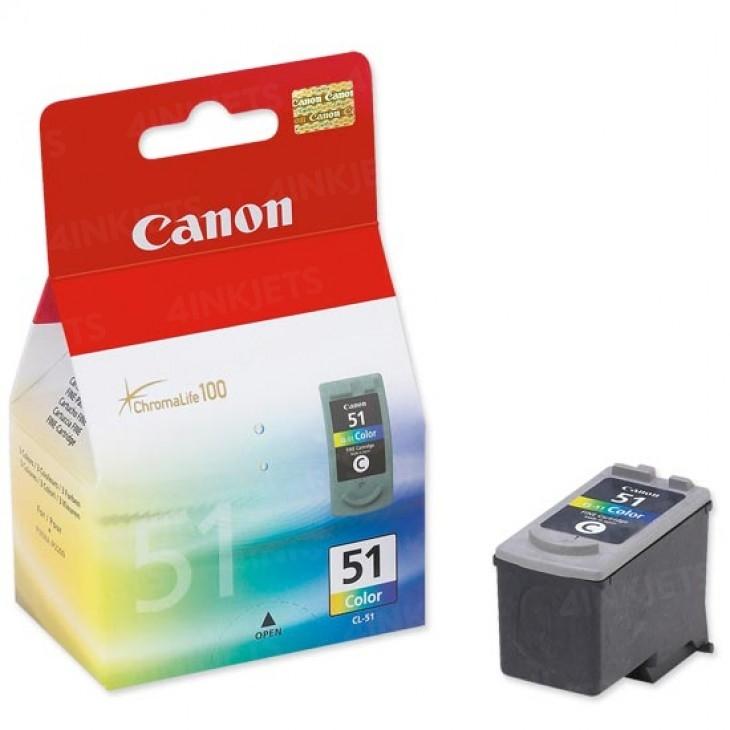 Canon CL-51 3 Color 3 Renk Orijinal Mürekkep Kartuş