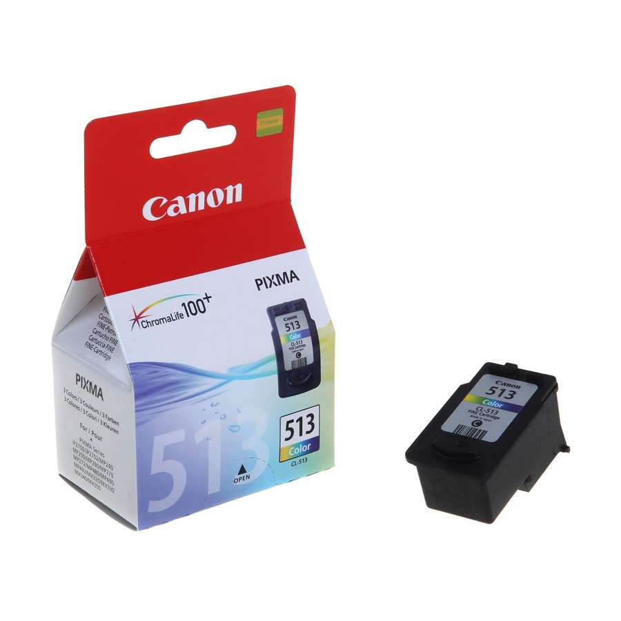Canon CL-513 3 Color 3 Renk Orijinal Mürekkep Kartuş