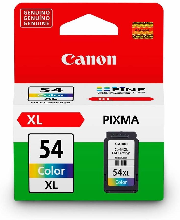Canon CL-54XL 3 Color 3 Renk Orijinal Mürekkep Kartuş