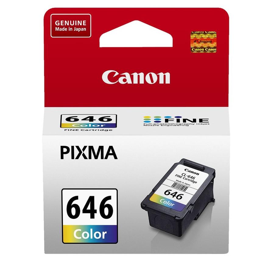 Canon CL-646 3 Color 3 Renk Orijinal Mürekkep Kartuş