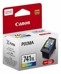 Canon CL-741XL 3 Color 3 Renk Orijinal Mürekkep Kartuş
