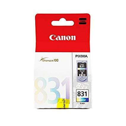 Canon CL-831 3 Color 3 Renk Orijinal Mürekkep Kartuş