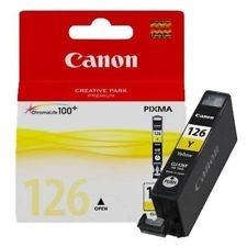 Canon CLI-126 Y Yellow Sarı Orijinal Mürekkep Kartuş