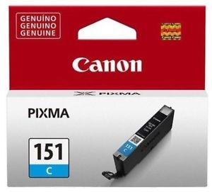 Canon CLI-151 C Cyan Mavi Orijinal Mürekkep Kartuş