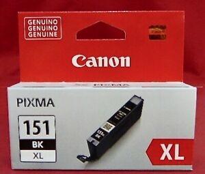 Canon CLI-151XL BK Black Siyah Orijinal Mürekkep Kartuş