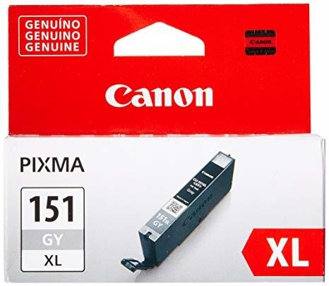 Canon CLI-151XL GY Grey Gri Orijinal Mürekkep Kartuş