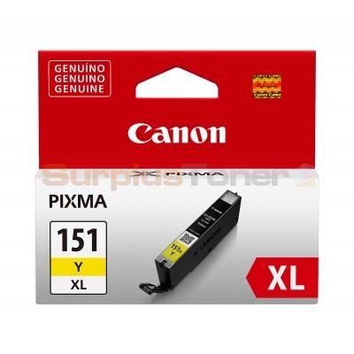 Canon CLI-151XL Y Yellow Sarı Orijinal Mürekkep Kartuş