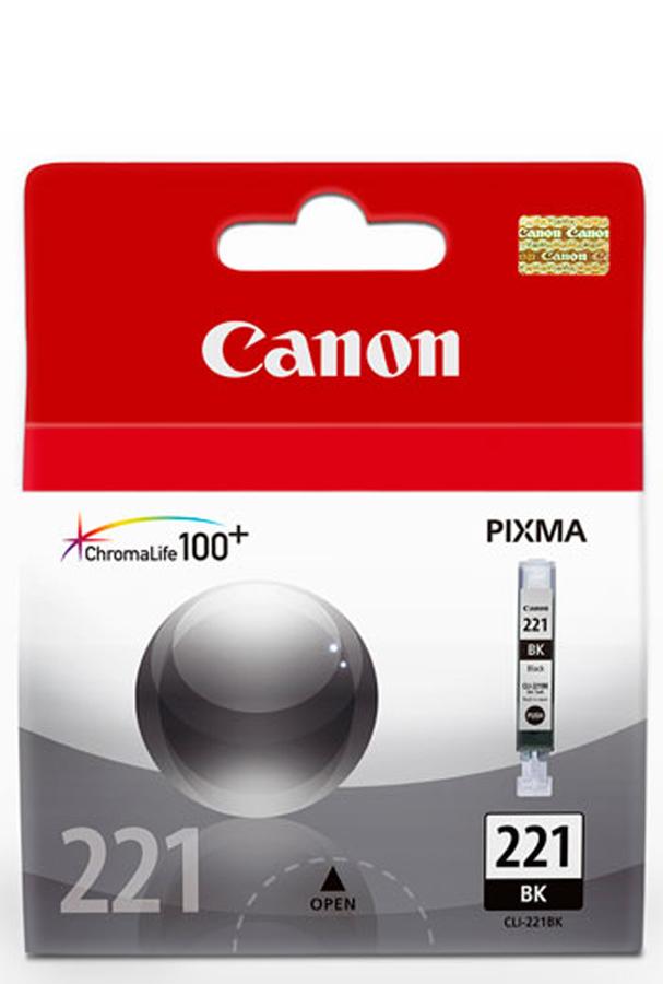 Canon CLI-221 BK Black Siyah Orijinal Mürekkep Kartuş