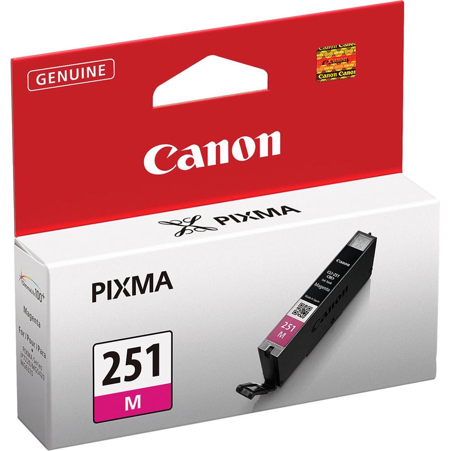 Canon CLI-251 M Magenta Kırmızı Orijinal Mürekkep Kartuş
