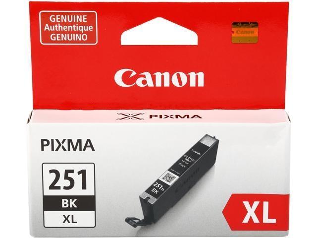 Canon CLI-251XL BK Black Siyah Orijinal Mürekkep Kartuş