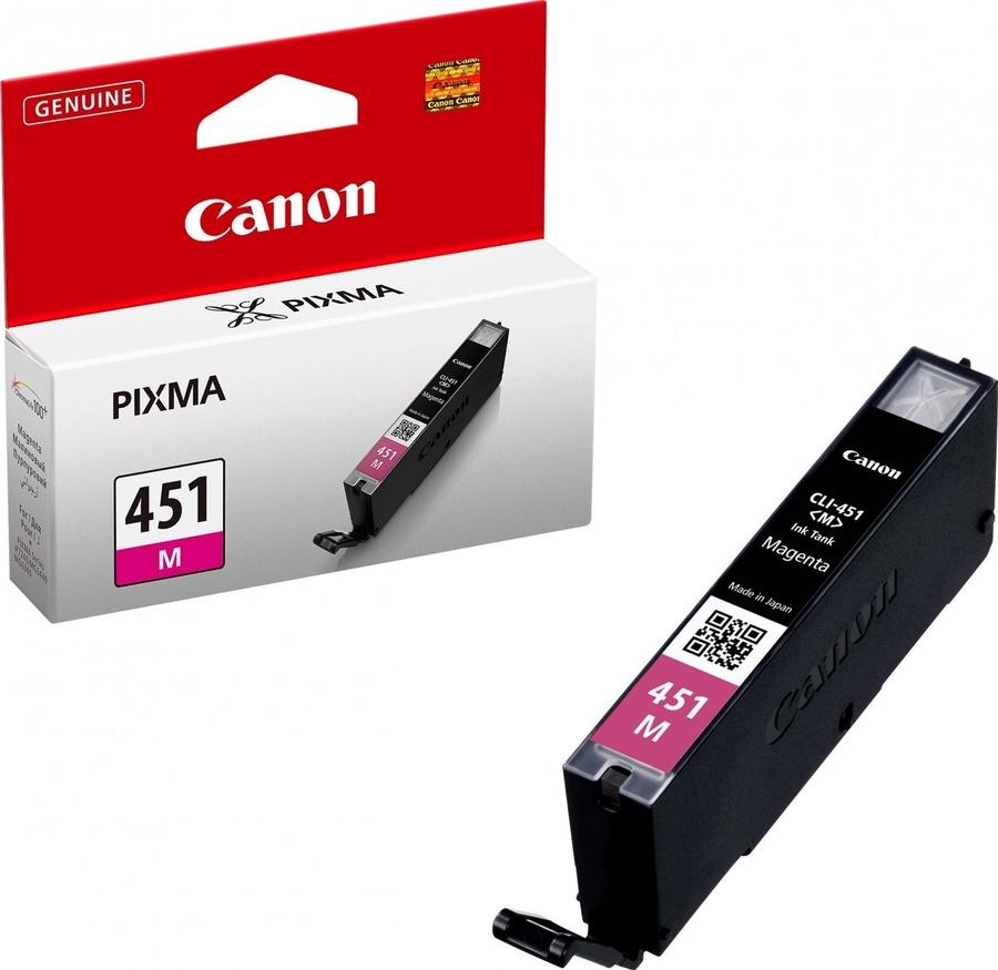 Canon CLI-451 M Magenta Kırmızı Orijinal Mürekkep Kartuş