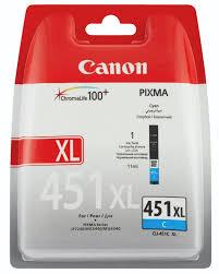 Canon CLI-451XL C Cyan Mavi Orijinal Mürekkep Kartuş