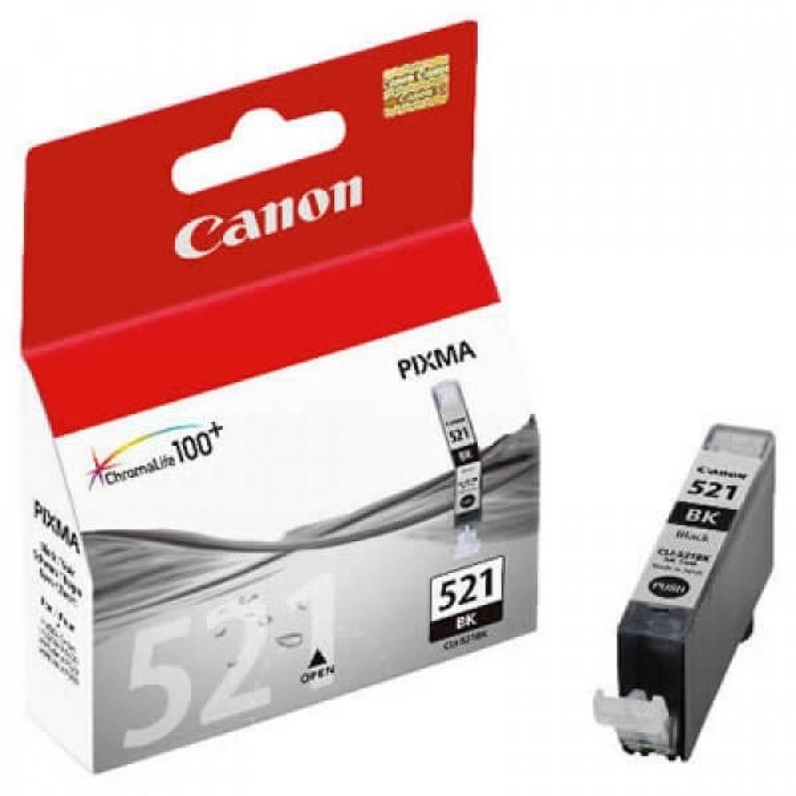 Canon CLI-521 BK Black Siyah Orijinal Mürekkep Kartuş