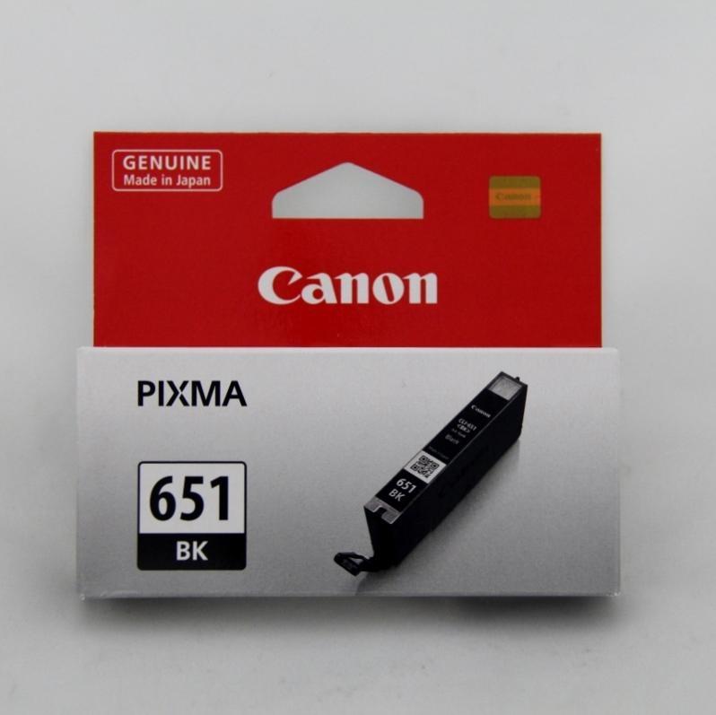 Canon CLI-651 BK Black Siyah Orijinal Mürekkep Kartuş