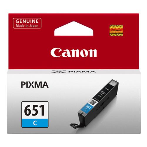 Canon CLI-651 C Cyan Mavi Orijinal Mürekkep Kartuş